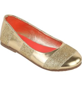 Billie Blush Billie Blush Fancy ballerinas with stripes & sequins