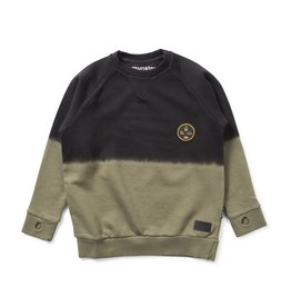 Munster Munster Patchy Fleece Sweater