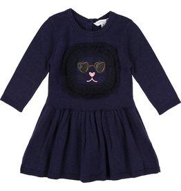 Little Marc Jacobs Little Marc Jacobs Knitted dress, cat pattern