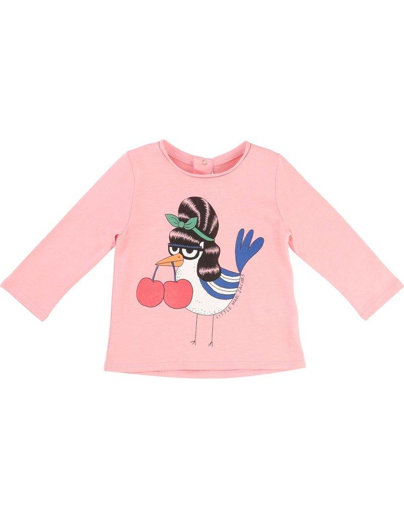 Little Marc Jacobs Little Marc Jacobs Jersey modal tee shirt - Mummy Bird