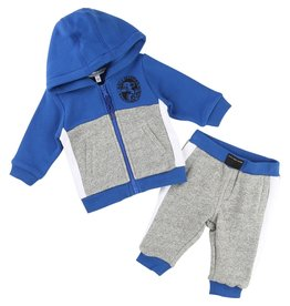 Little Marc Jacobs Little Marc Jacobs Set of fleece cardigan with a Hood and trousers