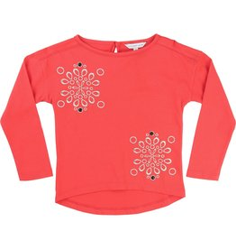 Little Marc Jacobs Little Marc Jacobs Jersey modal tee shirt-embroidered pattern