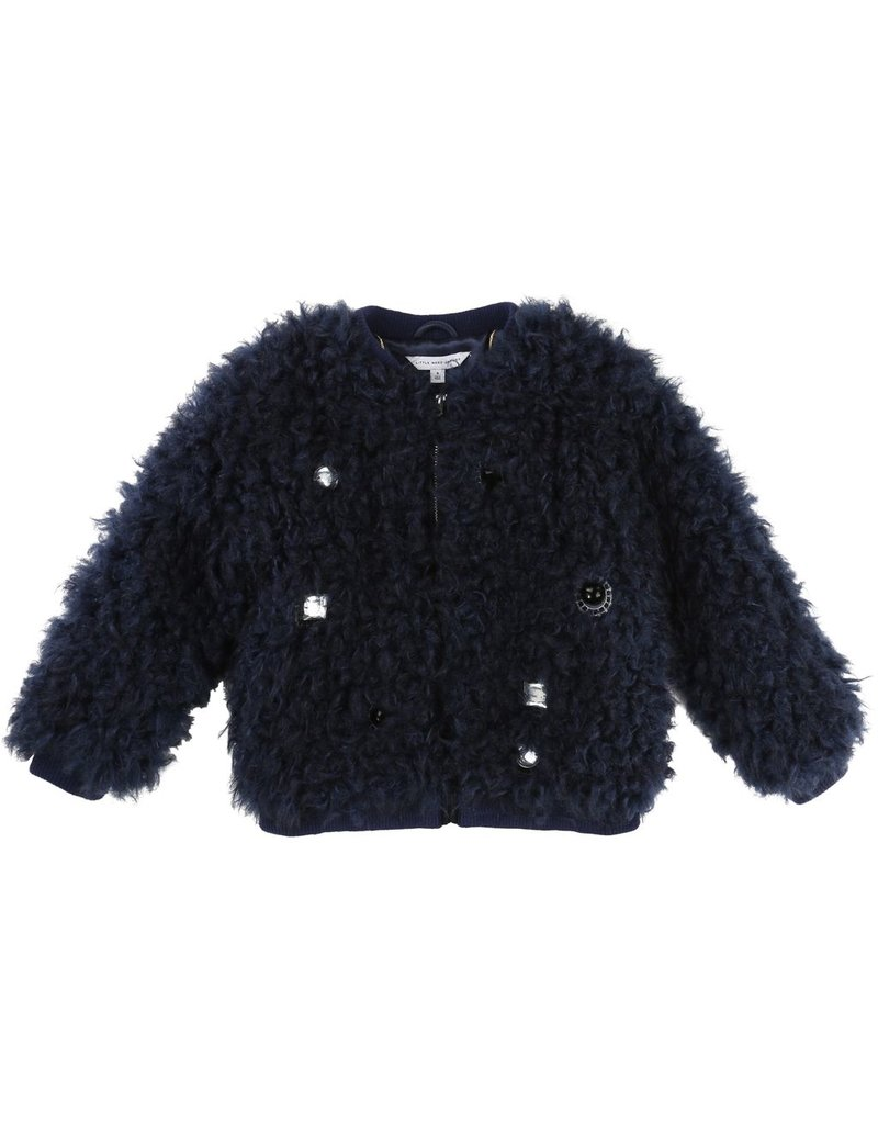 Little Marc Jacobs Little Marc Jacobs Faux fur blouson