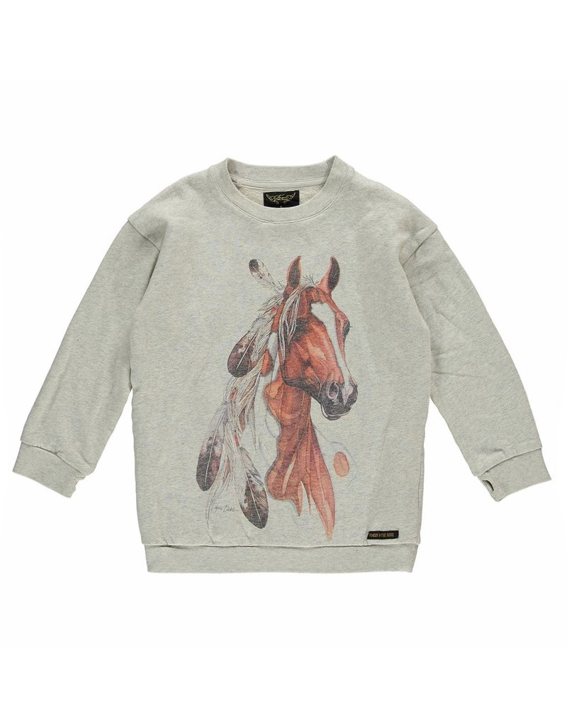 Finger in the Nose Finger in the Nose Tina Horse print Sweater