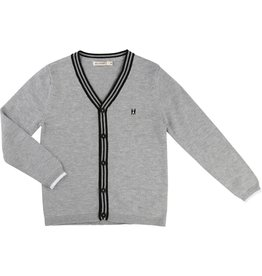 Billy Bandit Billy Bandit Cashmere touch knitted sweater with dog embroidery