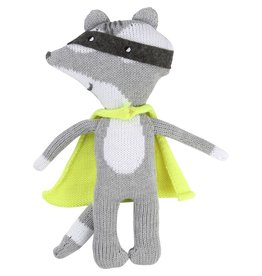 Billy Bandit Billy Bandit Knitted soft toy with removable cloak.