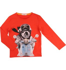 Billy Bandit Billy Bandit Cotton jersey tee shirt- Vespa