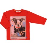 Billy Bandit Billy Bandit Cotton jersey tee-shirt, closed by snaps on the shoulder