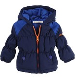 Billy Bandit Billy Bandit Hooded down jacket, pockets with plastic buttons logo Billybandit.