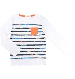 Billy Bandit Billy Bandit Cotton jersey tee shirt, long sleeves,printed stripes