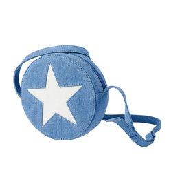 Stella McCartney Kids Stella McCartney Kids Glitter Denim Bag with Stars