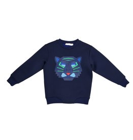 Stella McCartney Kids Stella McCartney Kids Reeve Sweater with Tiger