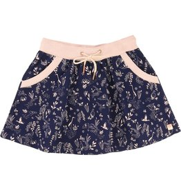 Carrement Beau Carrement Beau Cotton fleece print skirt