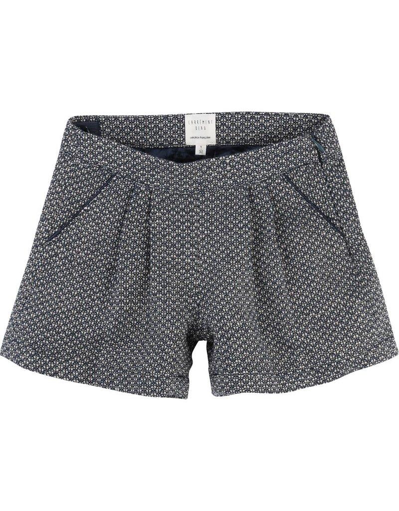 Carrement Beau Carrement Beau Lurex jacquard shorts