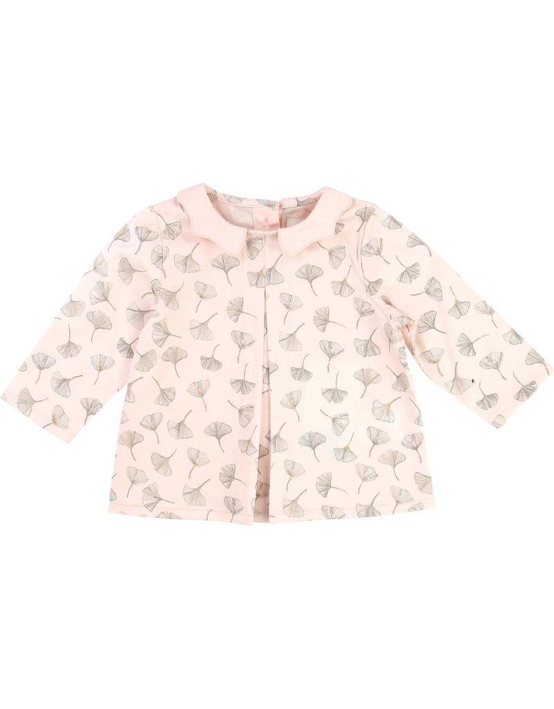 Carrement Beau Carrement Beau Cotton satin flower print blouse