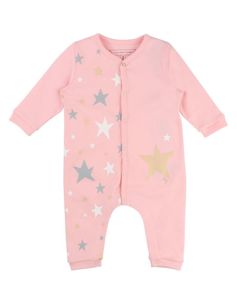 Little Marc Jacobs Little Marc Jacobs Interlock cotton Onesie-Stars