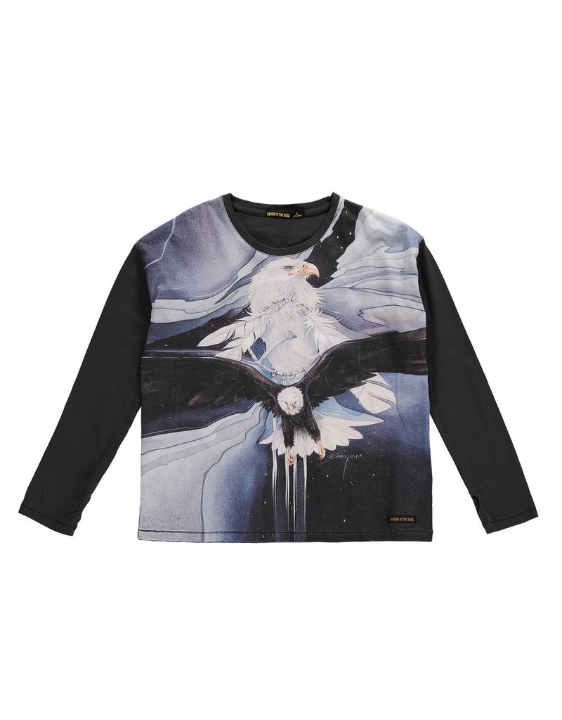 Finger in the Nose Finger in the Nose Bigtee Night Eagle LS Tee
