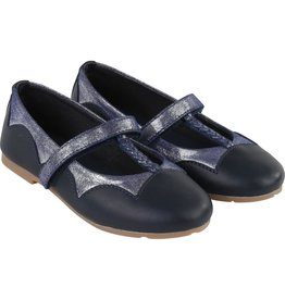 Carrement Beau Carrement Beau Two-tones leather ballerinas
