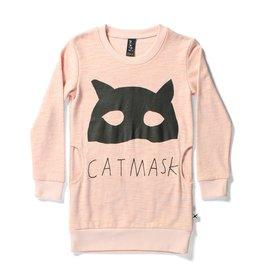 Minti Minti CAT MASK POCKET CREW DRESS