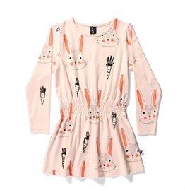 Minti Minti BUNNIES AND CARROTS MIDTOWN DRESS