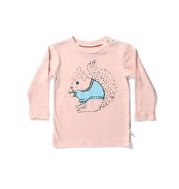 Minti Minti WARM SQUIRREL BABY LS TEE