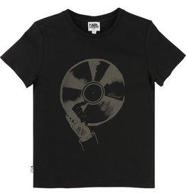 Karl Lagerfeld Kids Karl Lagerfeld Cotton jersey tee-shirt with Karl printed pattern