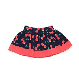 Little Marc Jacobs Little Marc Jacobs Twill viscose skirt, allover printed