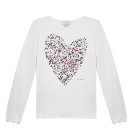 Paul Smith Junior Paul Smith Junior Mas Heart Tee Shirt