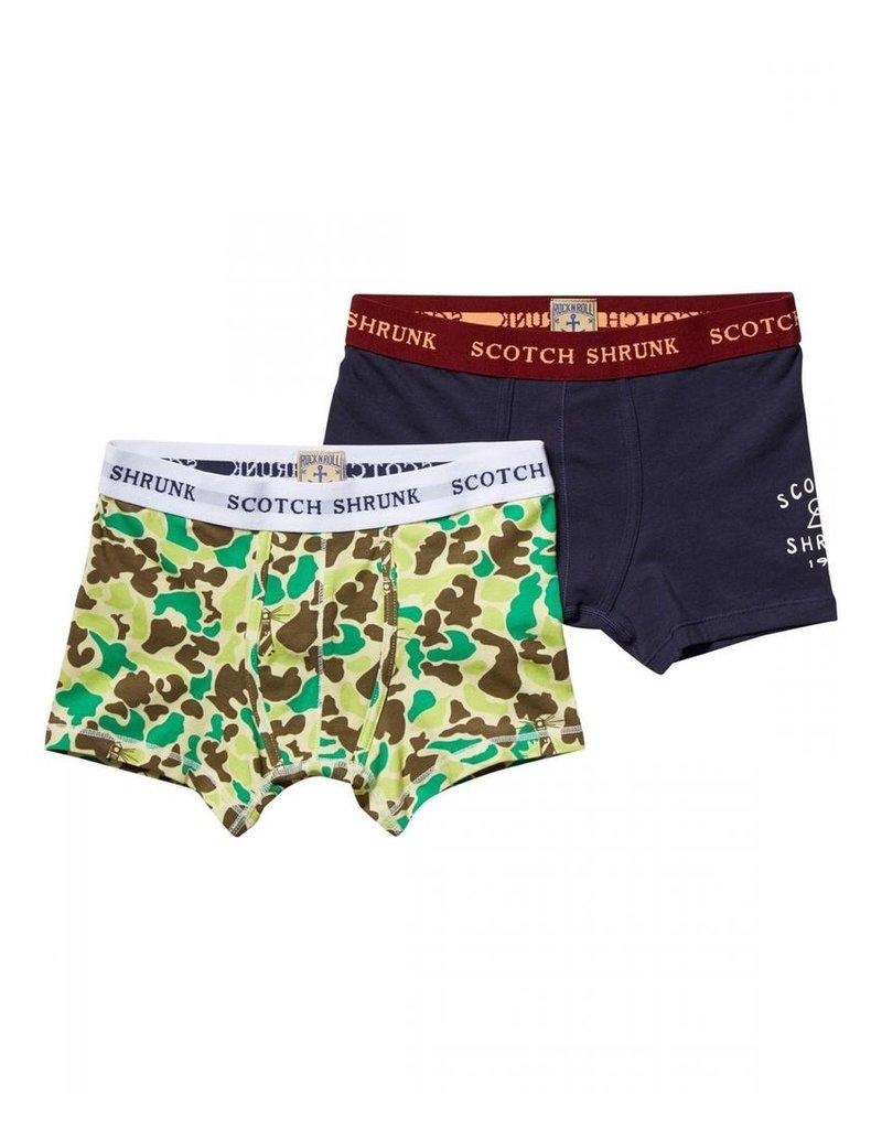 Scotch Shrunk Scotch Shrunk 2 Pack Underwear
