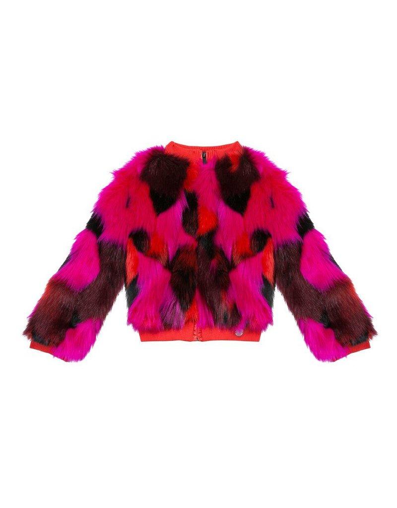 Kenzo Kenzo Faux Fur Jacket