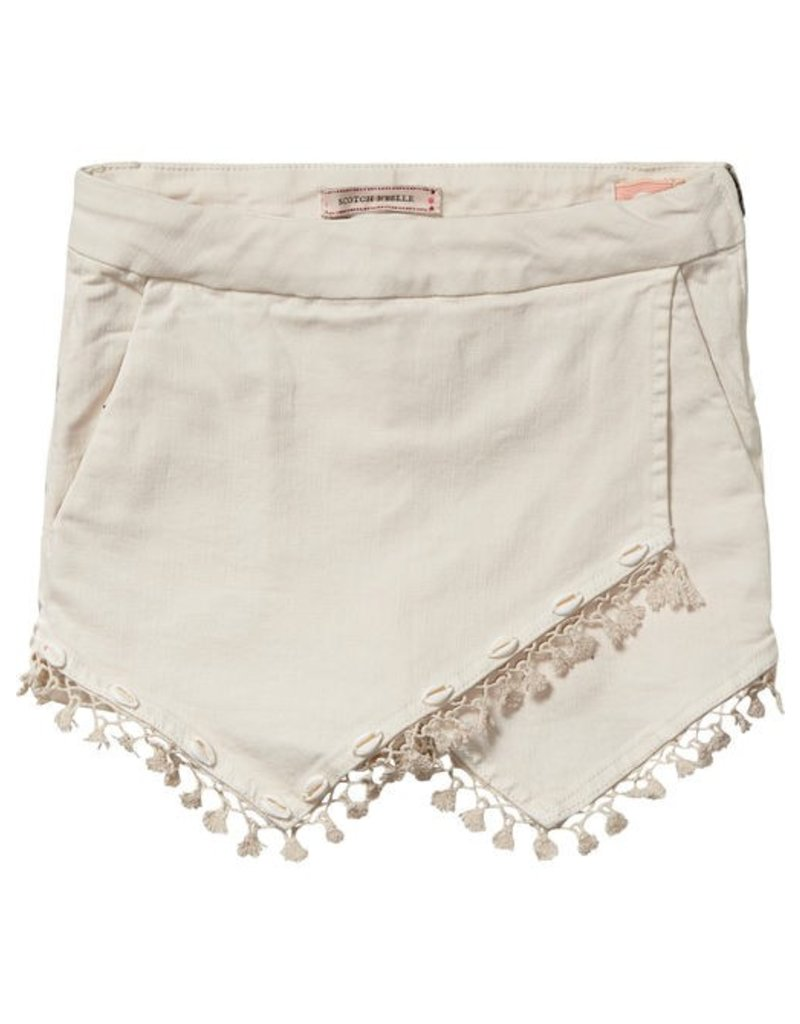 Scotch Rbelle Scotch Rbelle Shorts with Fringes