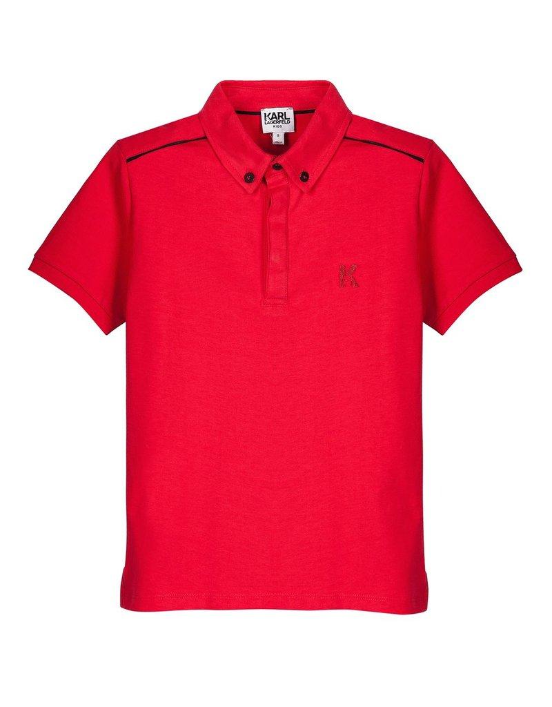 Karl Lagerfeld Kids Karl Lagerfeld Polo Shirt