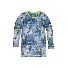 Claesens Claesens Snow Animals Pyjama Set