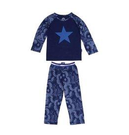 Claesens Claesens Star Navy Pyjamas