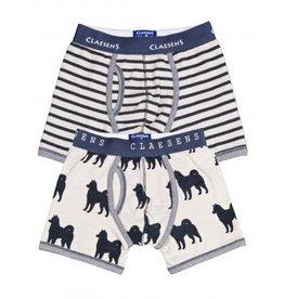 Claesens Claesens Boxers Husky & Stripes