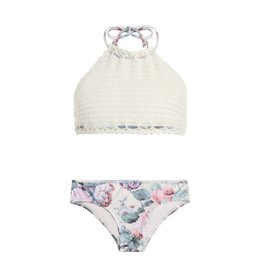 Zimmermann Zimmermann Mismatched Crochet Bikini
