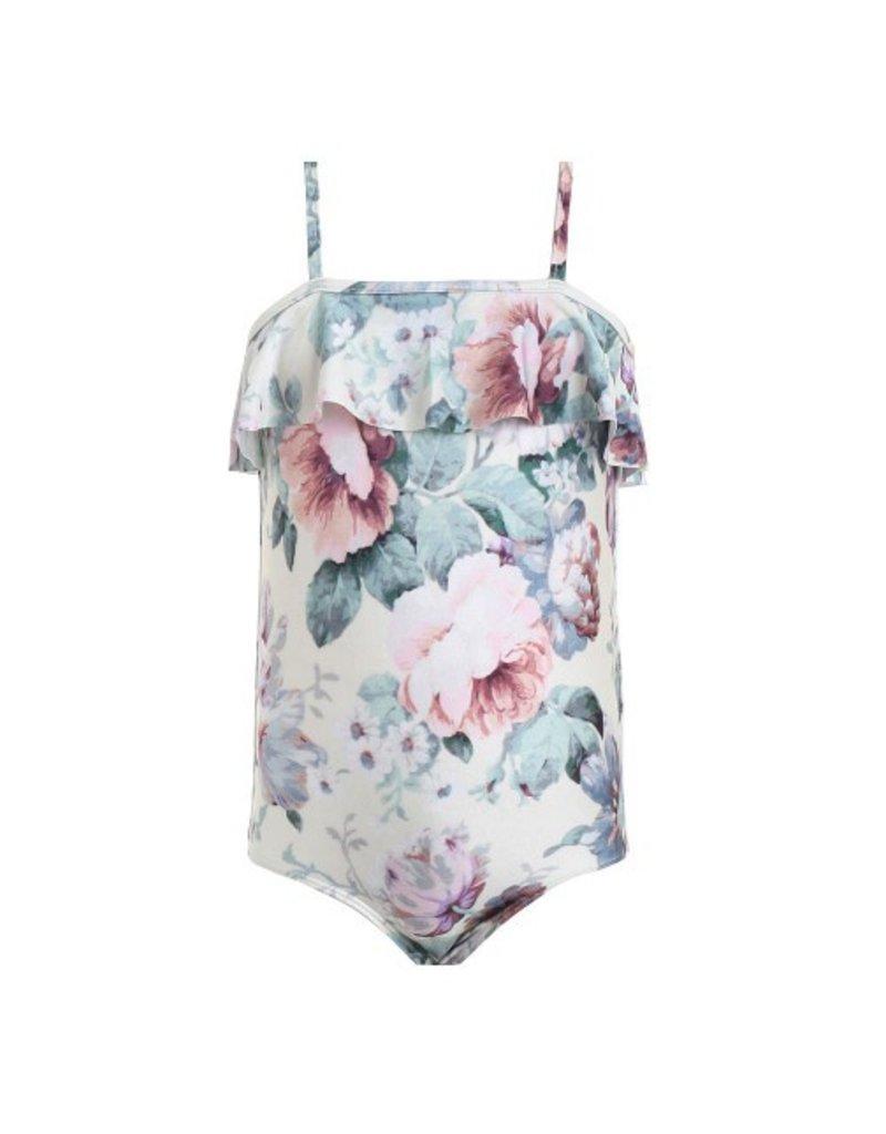 Zimmermann Zimmermann Jasper Floral Ruffle 1pc Swimsuit