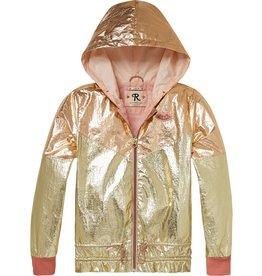 Scotch Rbelle Scotch Rbelle Sporty lightweight metallic jacket