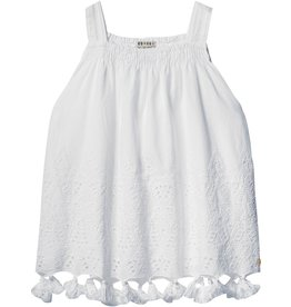 Scotch Rbelle Scotch Rbelle Singlet in broderie star pattern