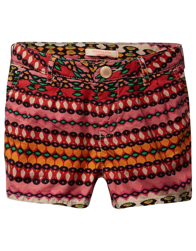 Scotch Rbelle Scotch Rbelle All-over printed mini shorts