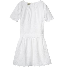 Scotch Rbelle Scotch Rbelle Dress with broderie star pattern