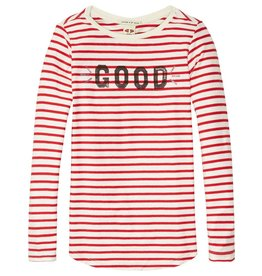 Scotch Rbelle Scotch Rbelle Washed slub long sleeve tee
