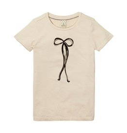 Scotch Rbelle Scotch Rbelle Basic Short sleeve tee - Ribbon