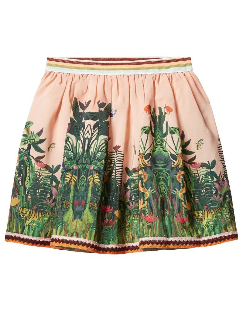Scotch Rbelle Scotch Rbelle Skirt with jungle print