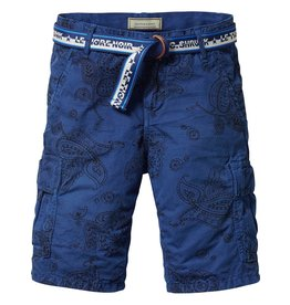 Scotch Shrunk Scotch Shrunk All-over printed cargo short