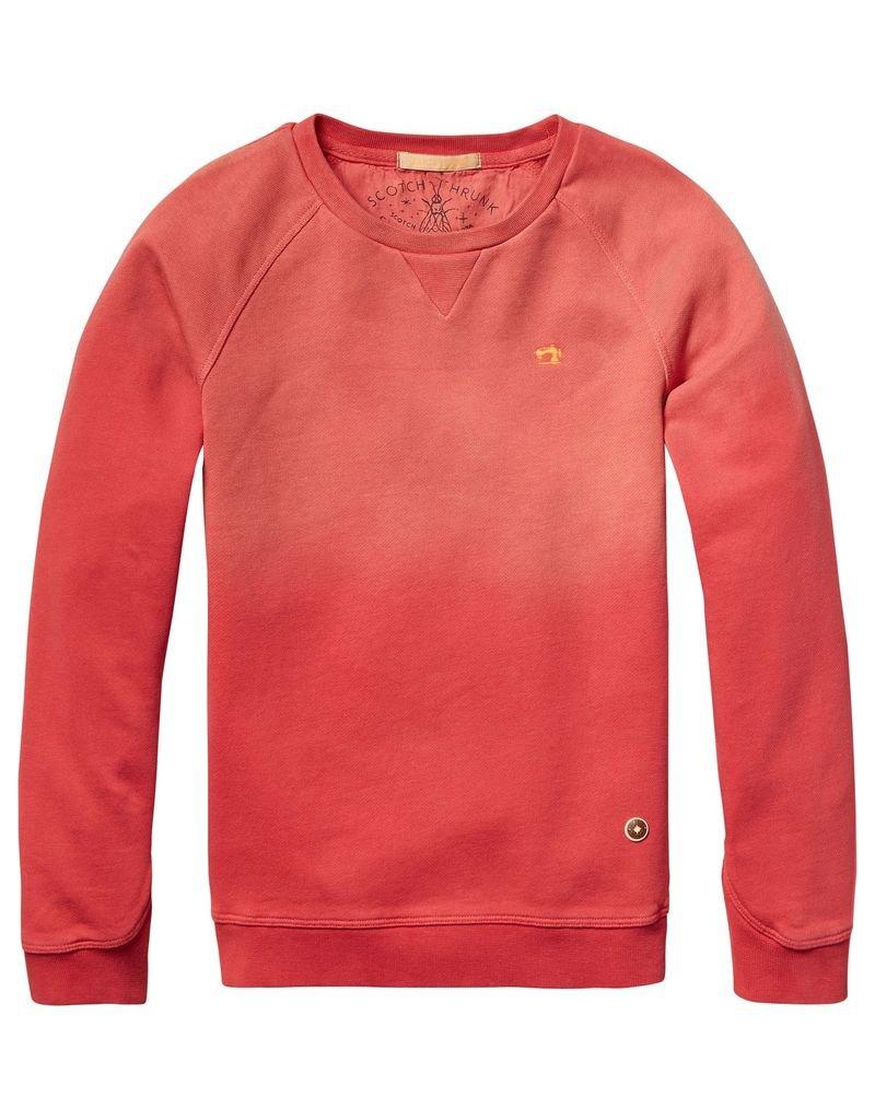 Scotch Shrunk Scotch Shrunk Garment dyed crew neck sweat