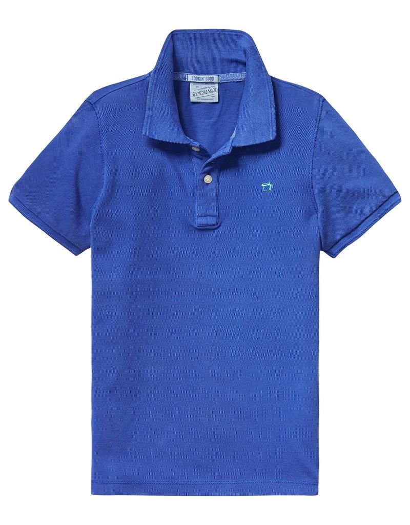 Scotch Shrunk Scotch Shrunk Garment dyed pique polo