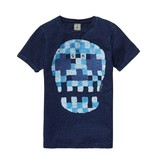 Scotch Shrunk Scotch Shrunk Tee with Skull artwork