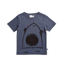 Minti Minti Hello Goodbye Shark Tee