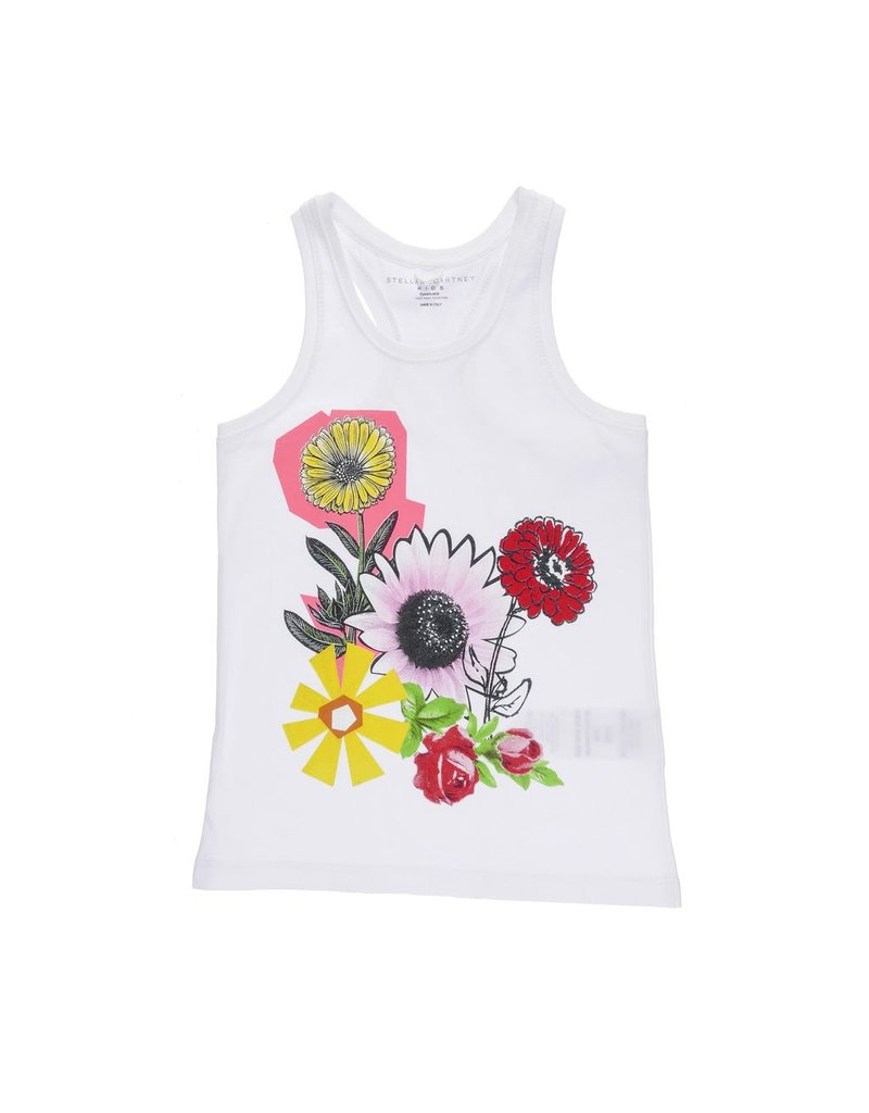 Stella McCartney Kids Stella McCartney Kids VALENTINE TOP W/FLORAL PRINT